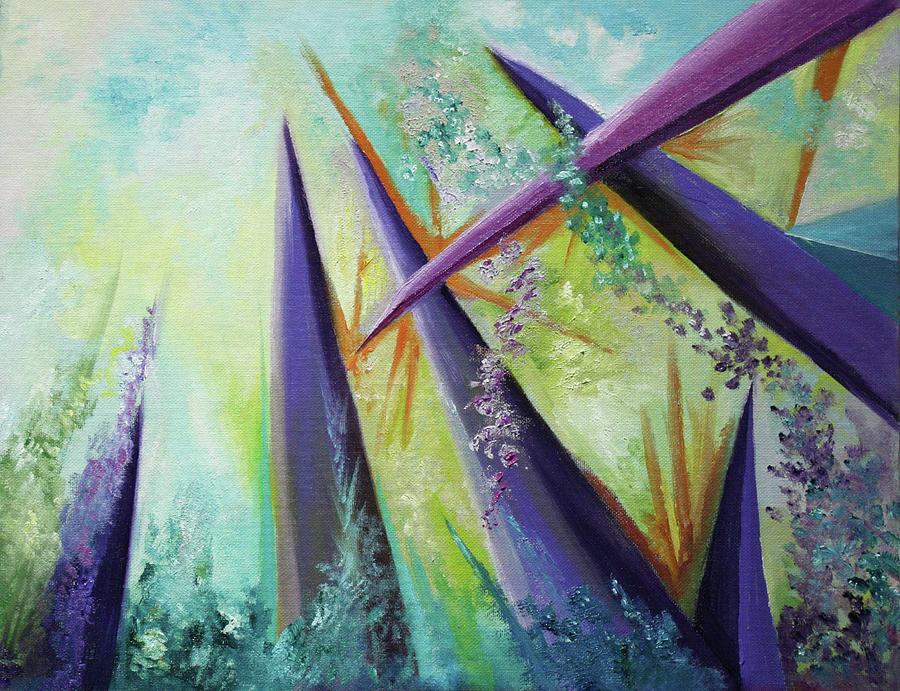 Aspiring Painting - Aspiring by Mary Beglau Wykes