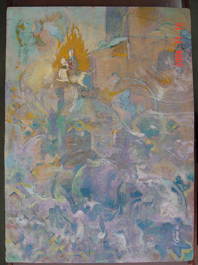 Painting - Asra  by Yaghoob