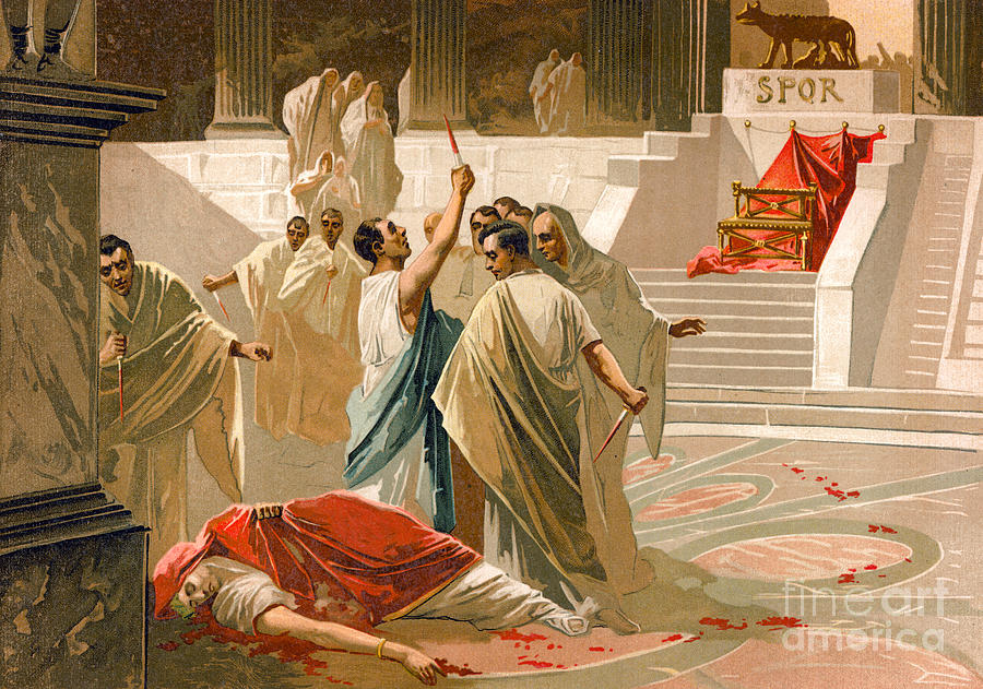 Image result for assassination of julius caesar