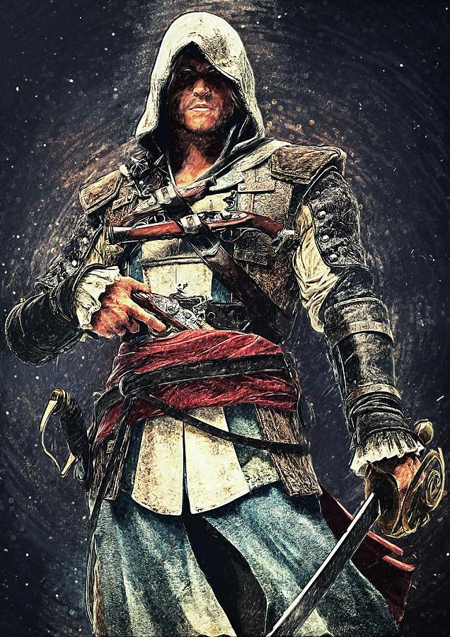 Assassins Creed Viking - Character Design by Petros