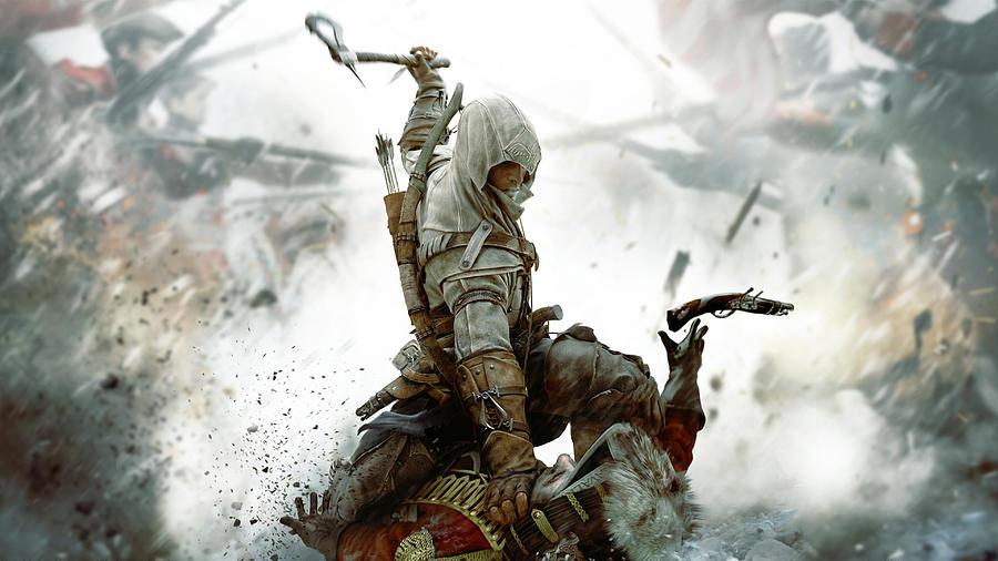 Assassin S Creed Iii Digital Art By Lissa Barone