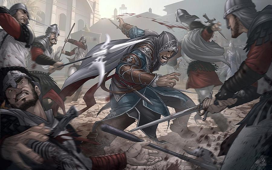 Assassin S Creed Revelations Digital Art By Winna Perlin
