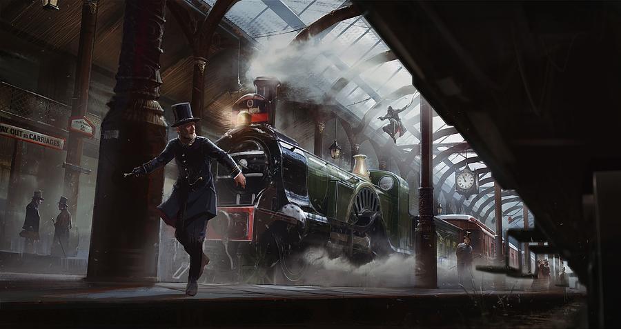 Assassin S Creed Syndicate Digital Art By Winna Perlin