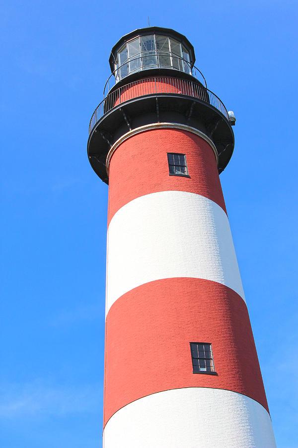 Assateague Photograph - Assateague Lighthouse Abstract by JB Stran