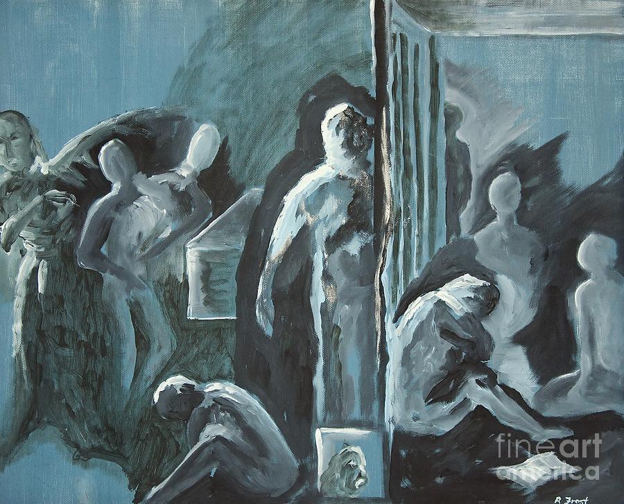 Assylum Painting - Assylum by Reb Frost