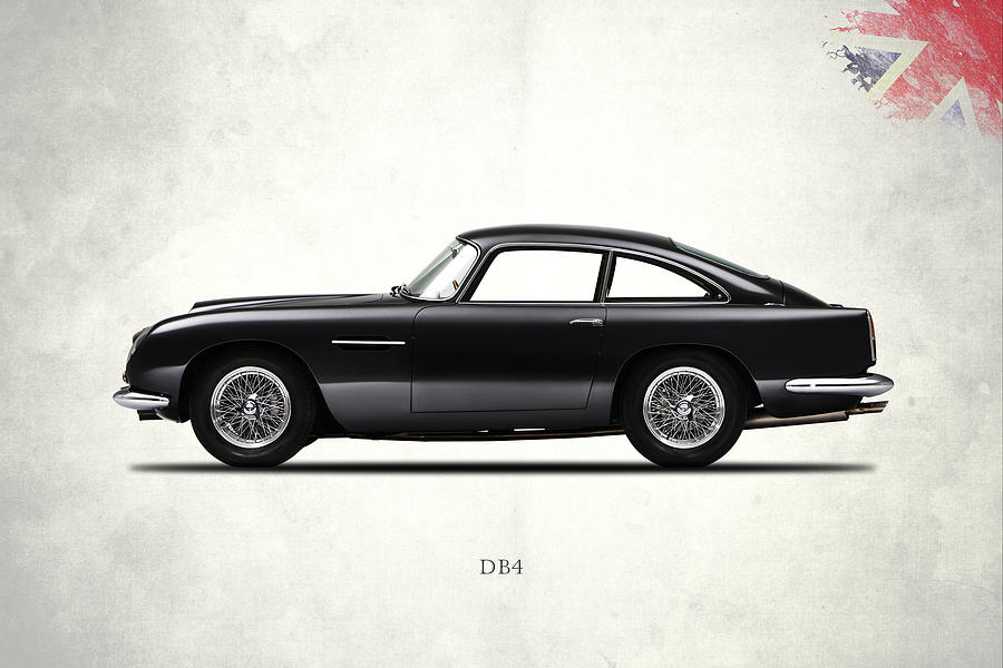 Aston Martin Db4 Photograph - Aston Martin Db4 by Mark Rogan