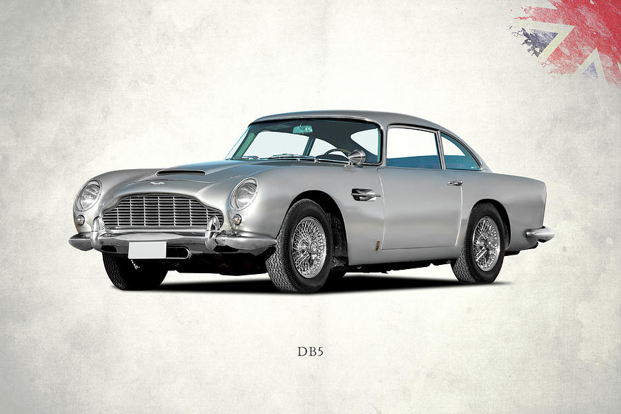 Aston Martin Db5 Photograph - Aston Martin Db5 by Mark Rogan