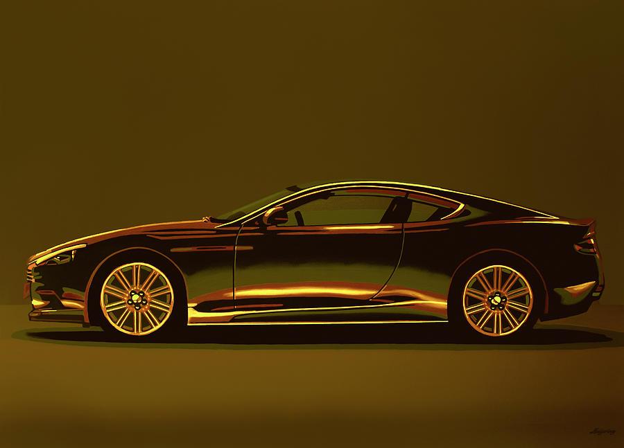 Aston Martin Dbs V12 2007 Mixed Media Mixed Media By Paul Meijering