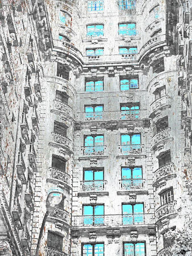 Front Mixed Media - Astor by Tony Rubino