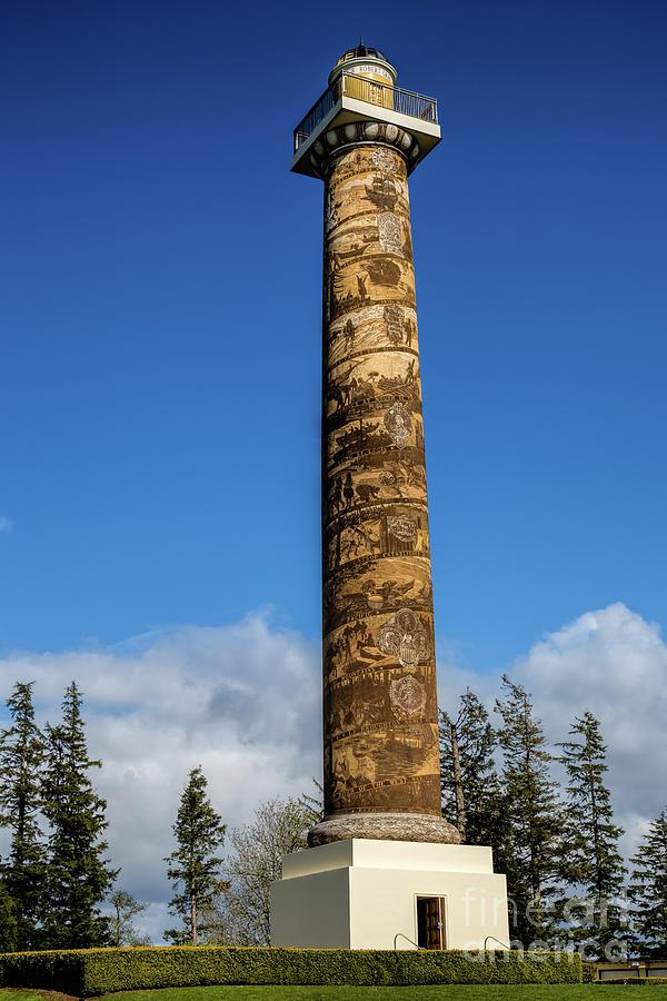 Tower Photograph - Astoria Column by Jon Burch Photography
