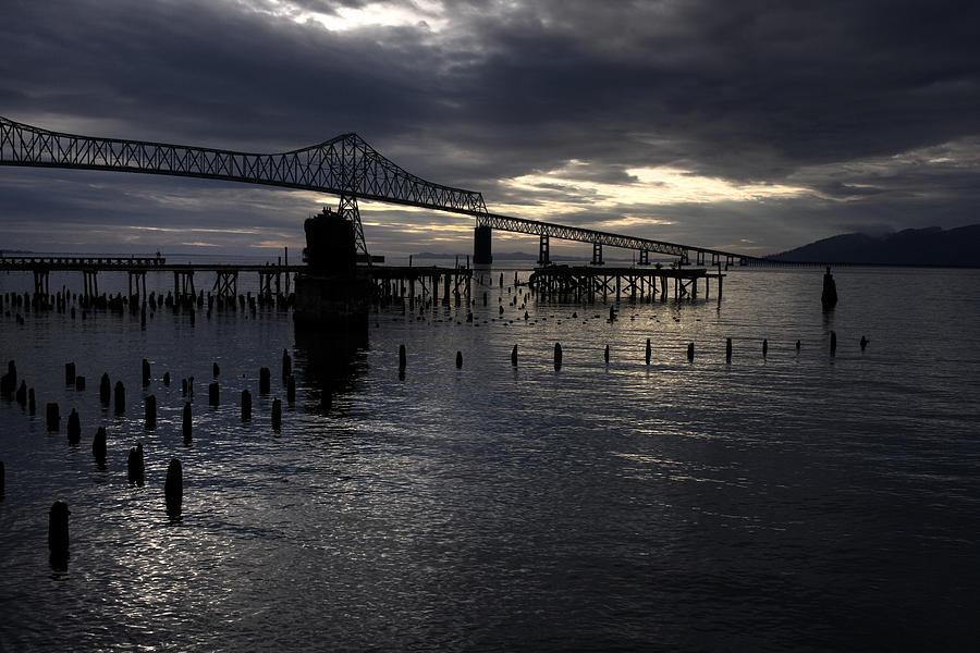 Landscape Photograph - Astoria-megler Bridge by Lee Santa