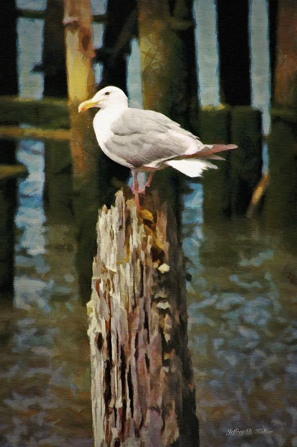Astoria Waterfront, Scene 2 - Post Posing by Jeffrey Kolker