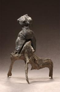 Astride Mixed Media by Alice Robrish