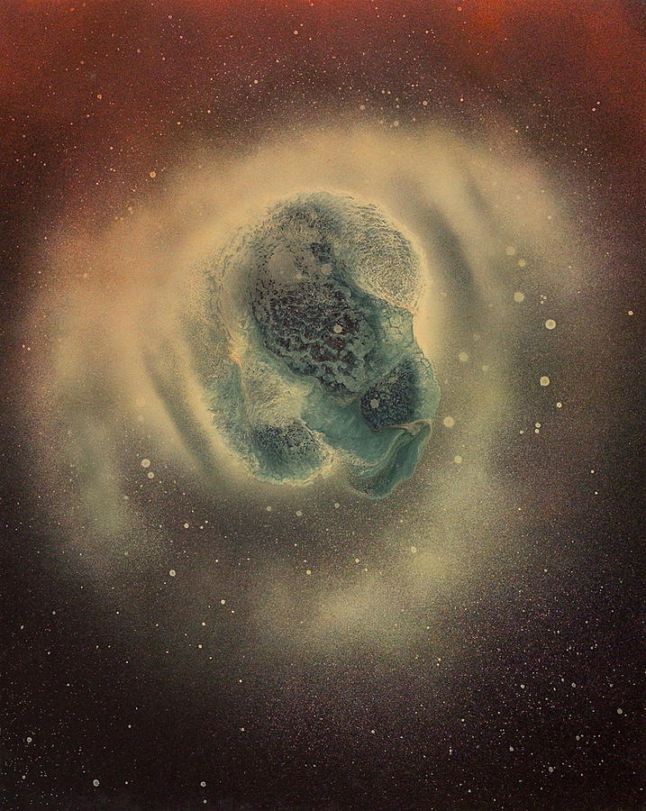 Astroid Giant Painting by Robie Julian