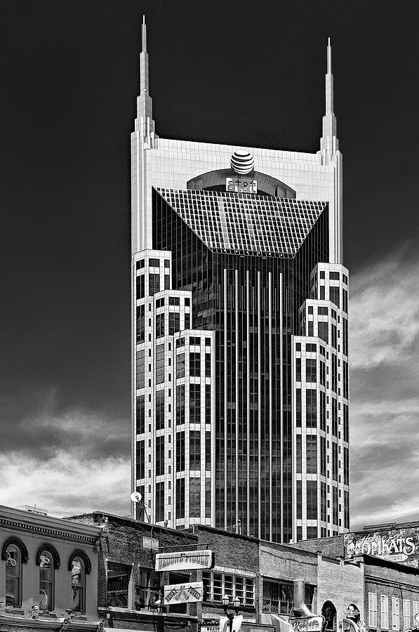 05 Nashville Tn Photograph - At And T Nashville by Ian Barber