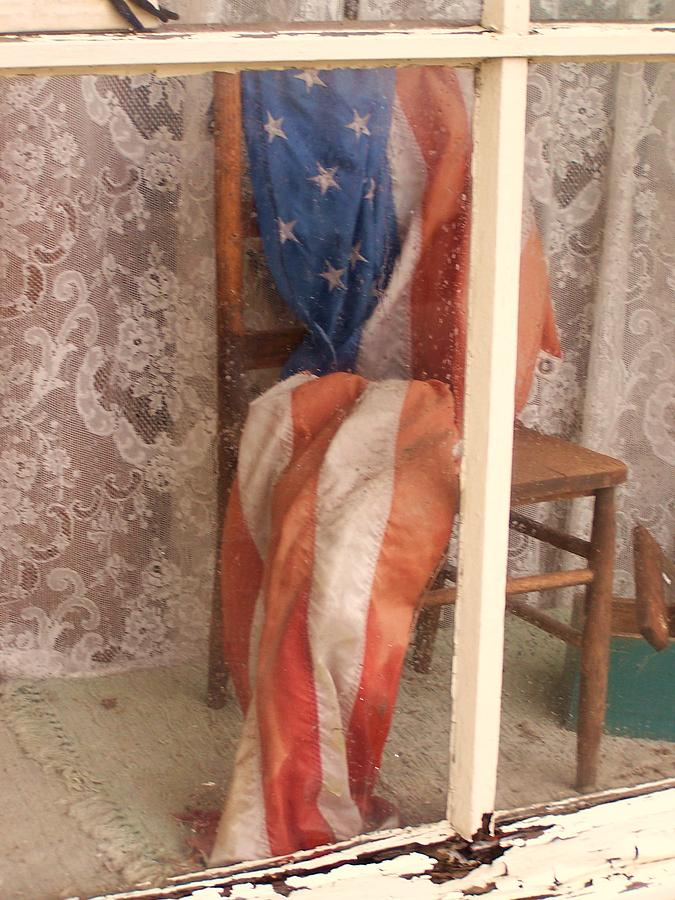 Usa Flag Photograph - At Peace by Joseph Norvell