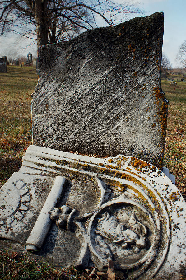 Cemetery Photograph - At Rest by Off The Beaten Path Photography - Andrew Alexander