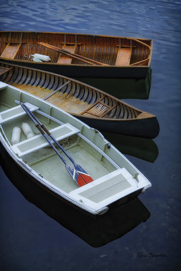 Boats Photograph - At Rest by Ronn Orenstein