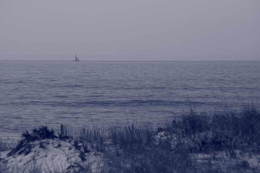 Sailboat Photograph - At Sea by Christopher Kirby