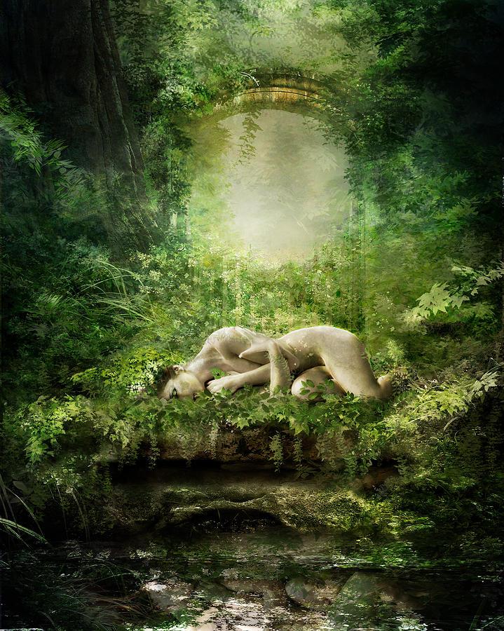 At Sleep Digital Art