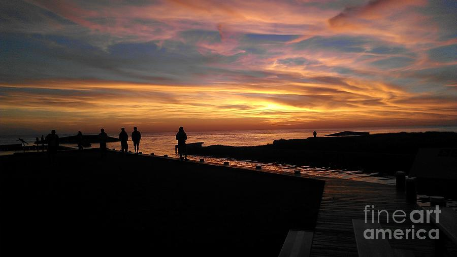 At Sunset Photograph