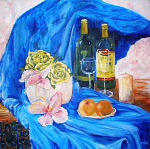 At Tanyas Painting by Jenia Tyshchenko