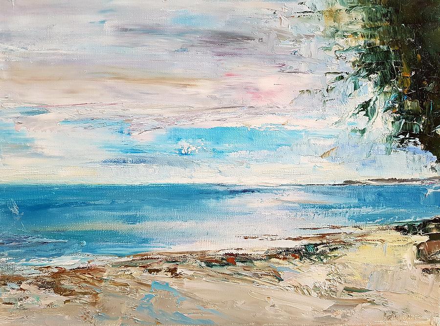 At the bay by Kathy  Karas