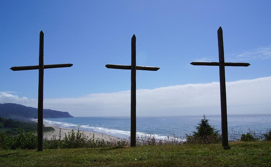 Cross Photograph - At The Cross by Angi Parks