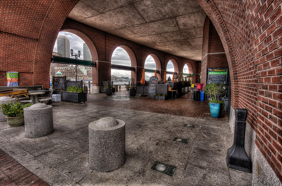 Boston Photograph - At the Daily Catch by John Hoey