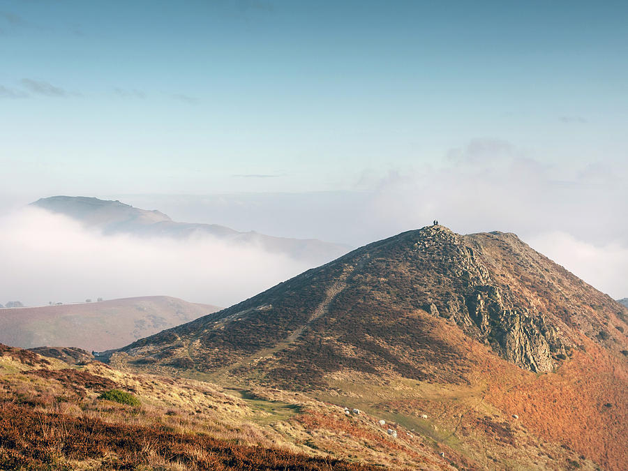 Church Stretton Photograph - At The Devils Mouth by Richard Greswell