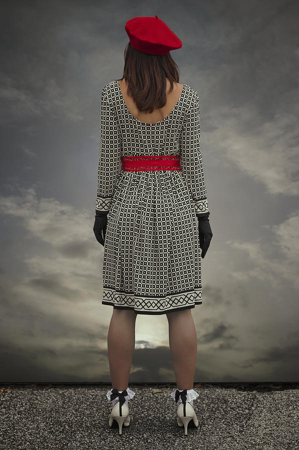 Woman Photograph - At The Edge by Joana Kruse