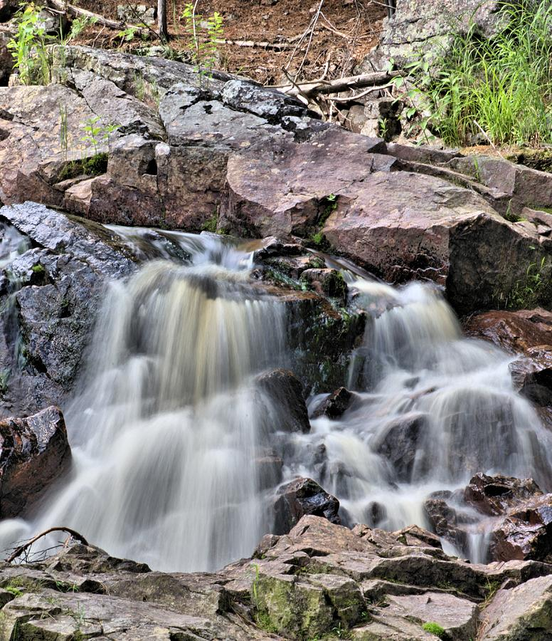 Flow Photograph - At The Falls by Andrew Miles