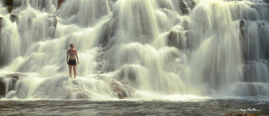 At The Falls by Harry Moulton