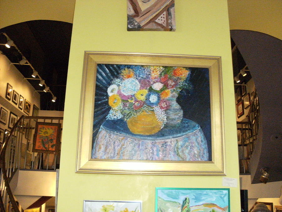 Gallery Photograph - At The Gallery by Anne-Elizabeth Whiteway