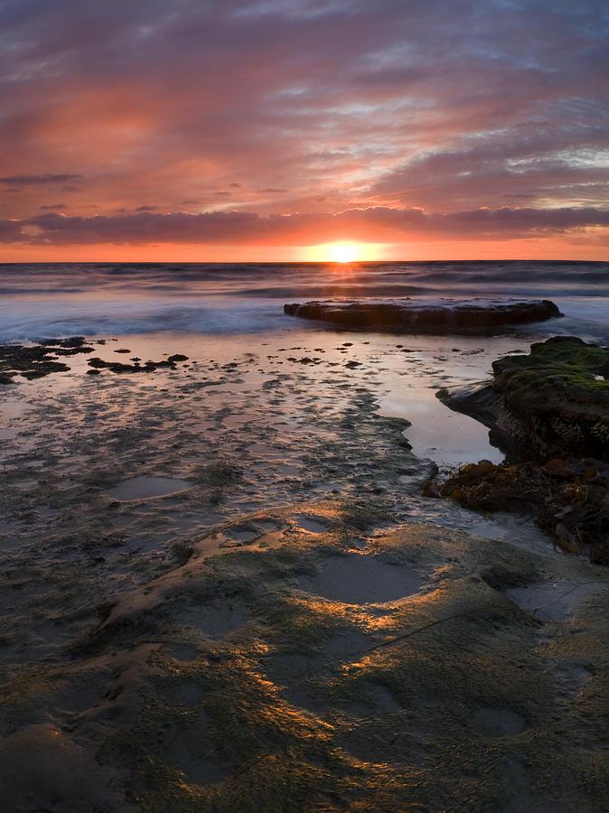 San Diego Photograph - At The Horizon by Mike  Dawson