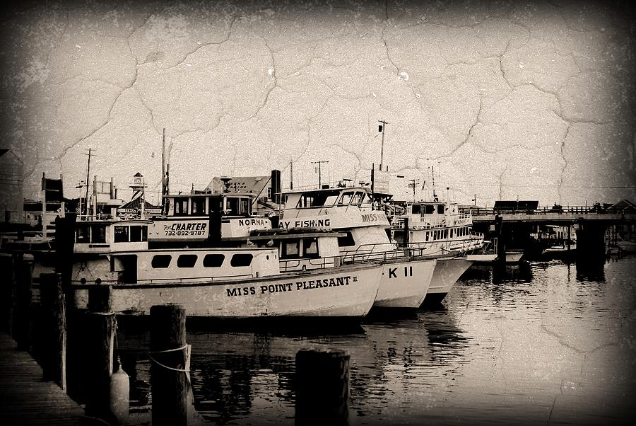 At The Marina - Jersey Shore Photograph