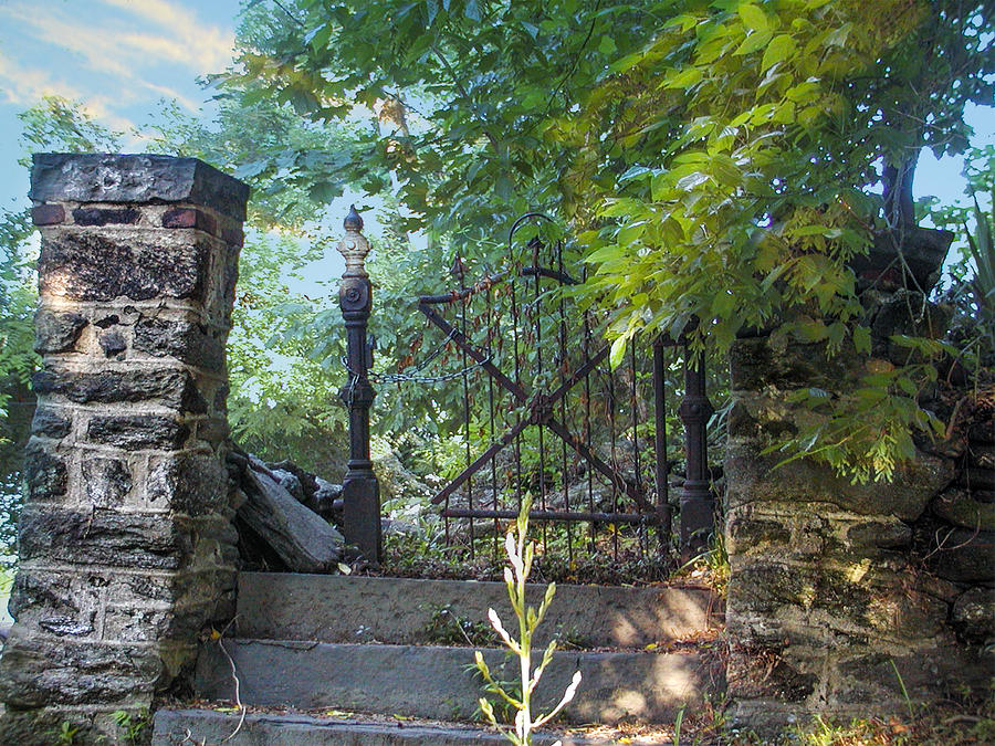 Garden Photograph - At The Old Garden Gate by Bill Cannon