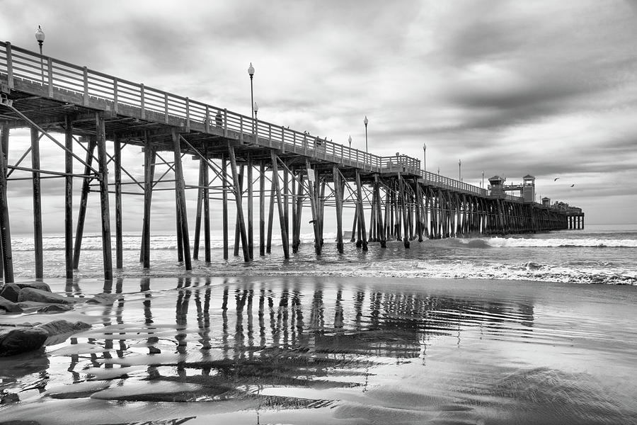 At the Pier by Barbara Manis