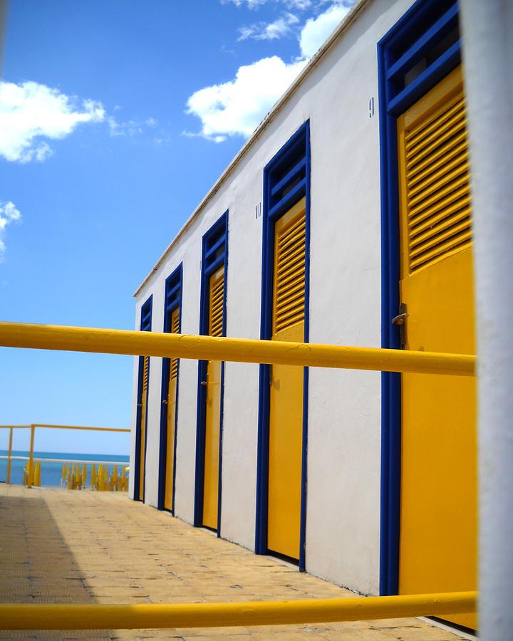 Yellow Photograph - At The Seashore 3 by Tom Reynen