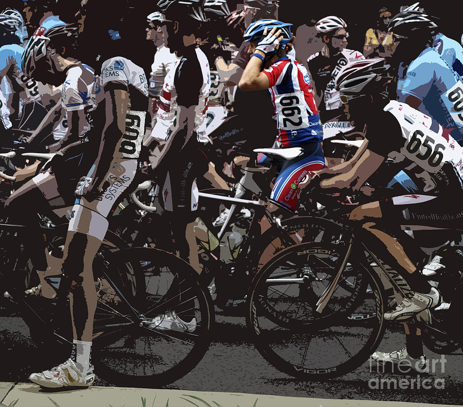 Men Photograph - At The Starting Gate by Steven Digman