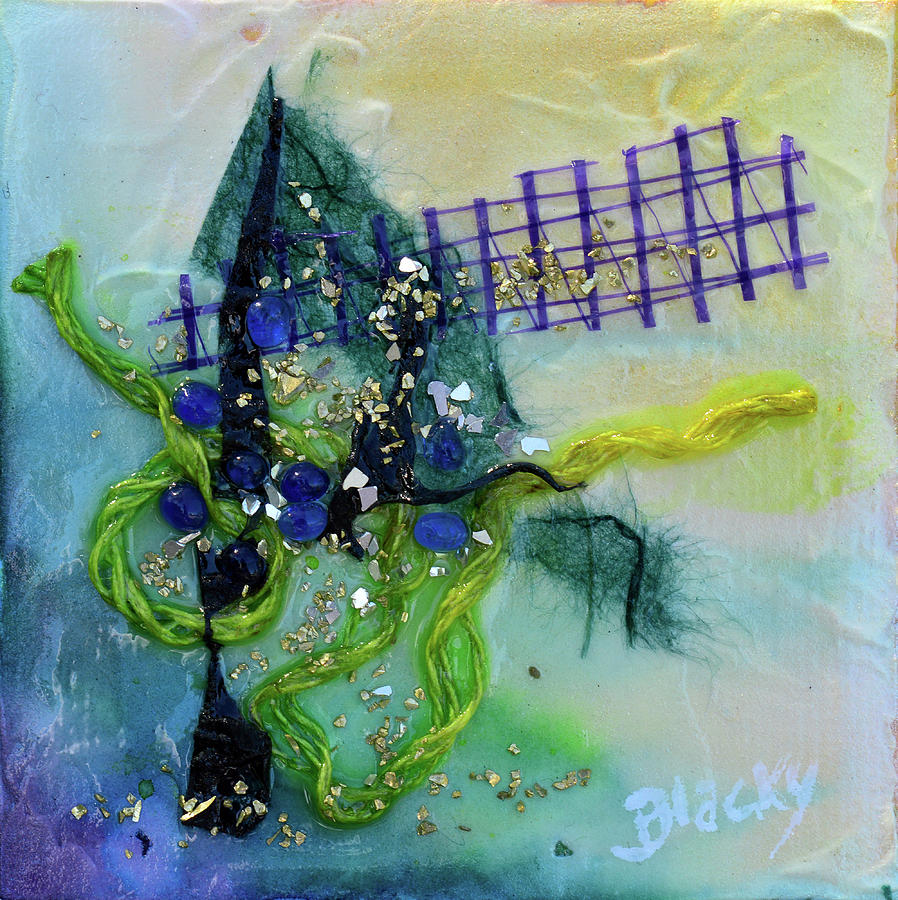 At The Summit Mixed Media by Donna Blackhall