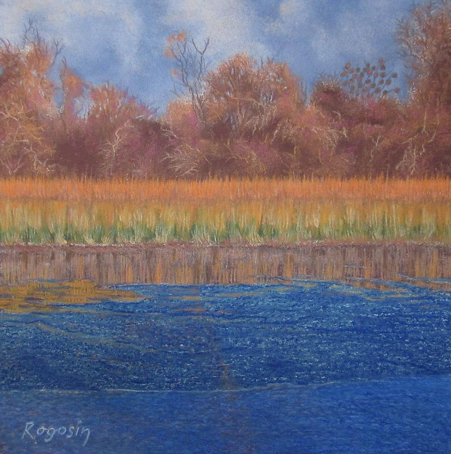 Cape Cod Pastel - At The Waters Edge by Harvey Rogosin