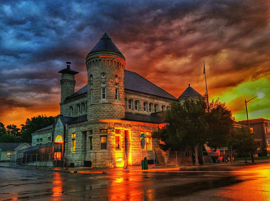 Atchison Photograph - Atchison Post Office  by Dustin Soph