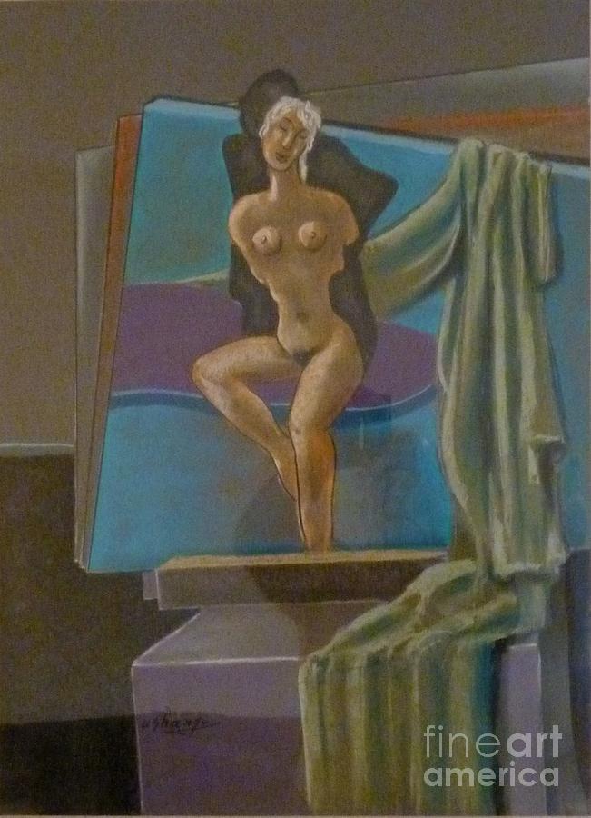 Nude Pastel - Atelier by Ushangi Kumelashvili