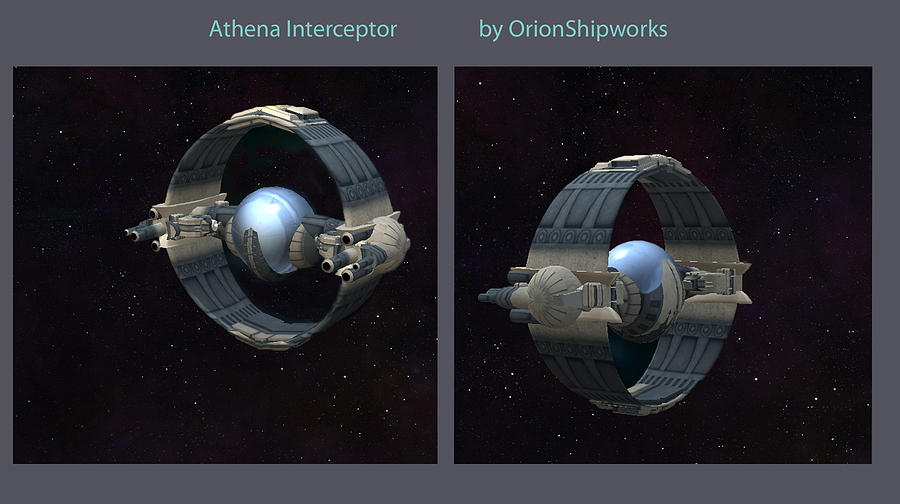 Athena Interceptor Digital Art by Don Perino