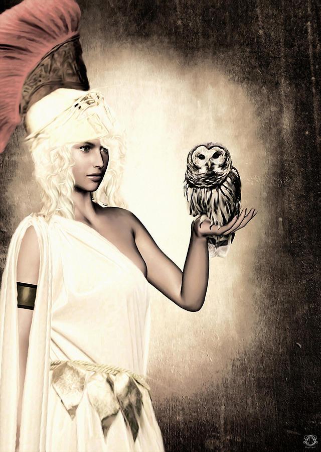Athena Photograph - Athena by Lourry Legarde