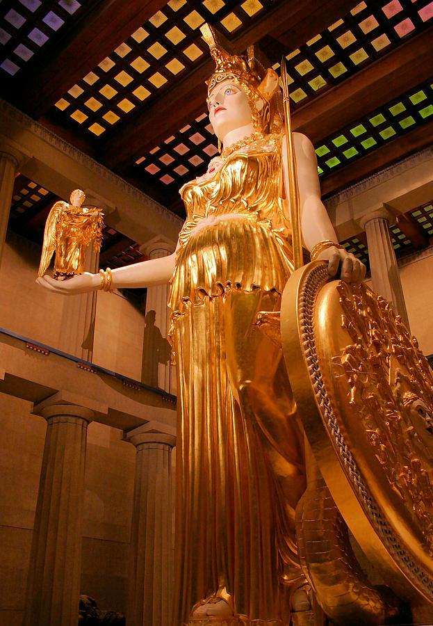 Athena Photograph - Athena With Nike by Kristin Elmquist