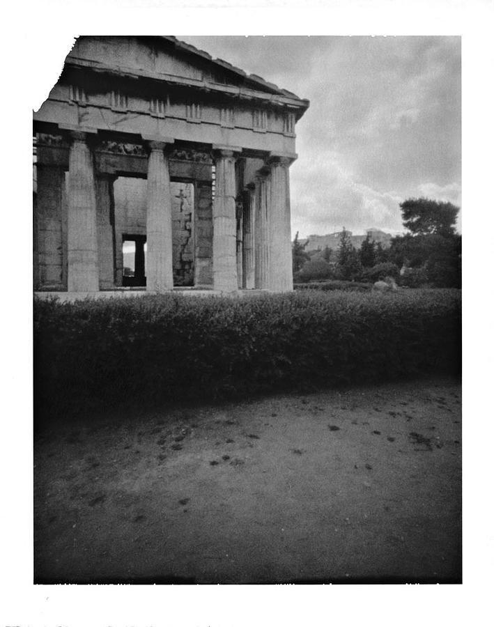 Cityscape Photograph - Athens Temple Of Ephesus by Luca Baldassari
