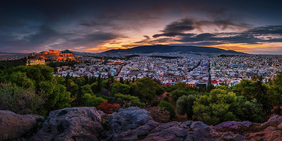 Europe Photograph - athens XCVII by Milan Gonda