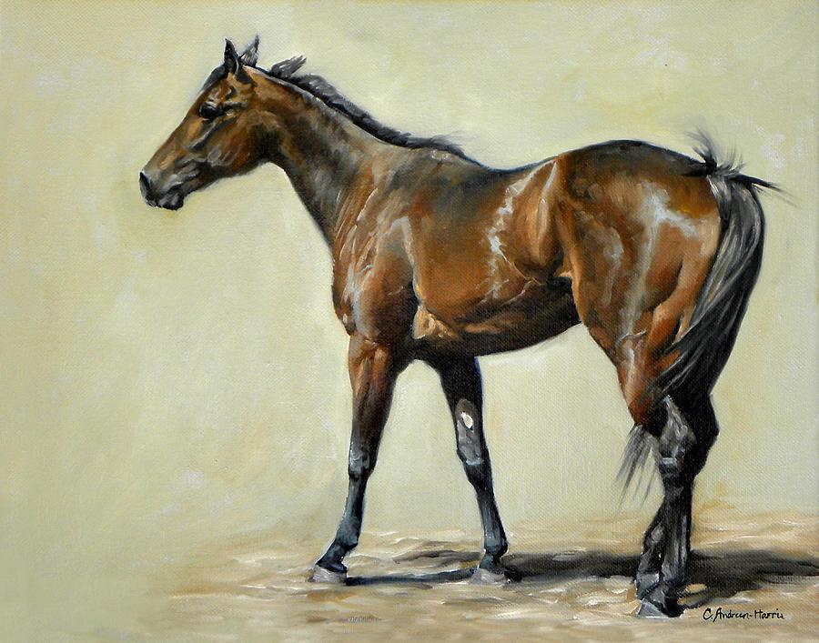 Athlete Painting